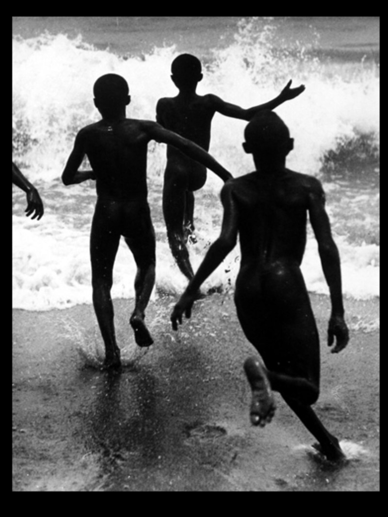 Three Boys at Lake Tanganyika. The photo that inspired Cartier-Bresson.