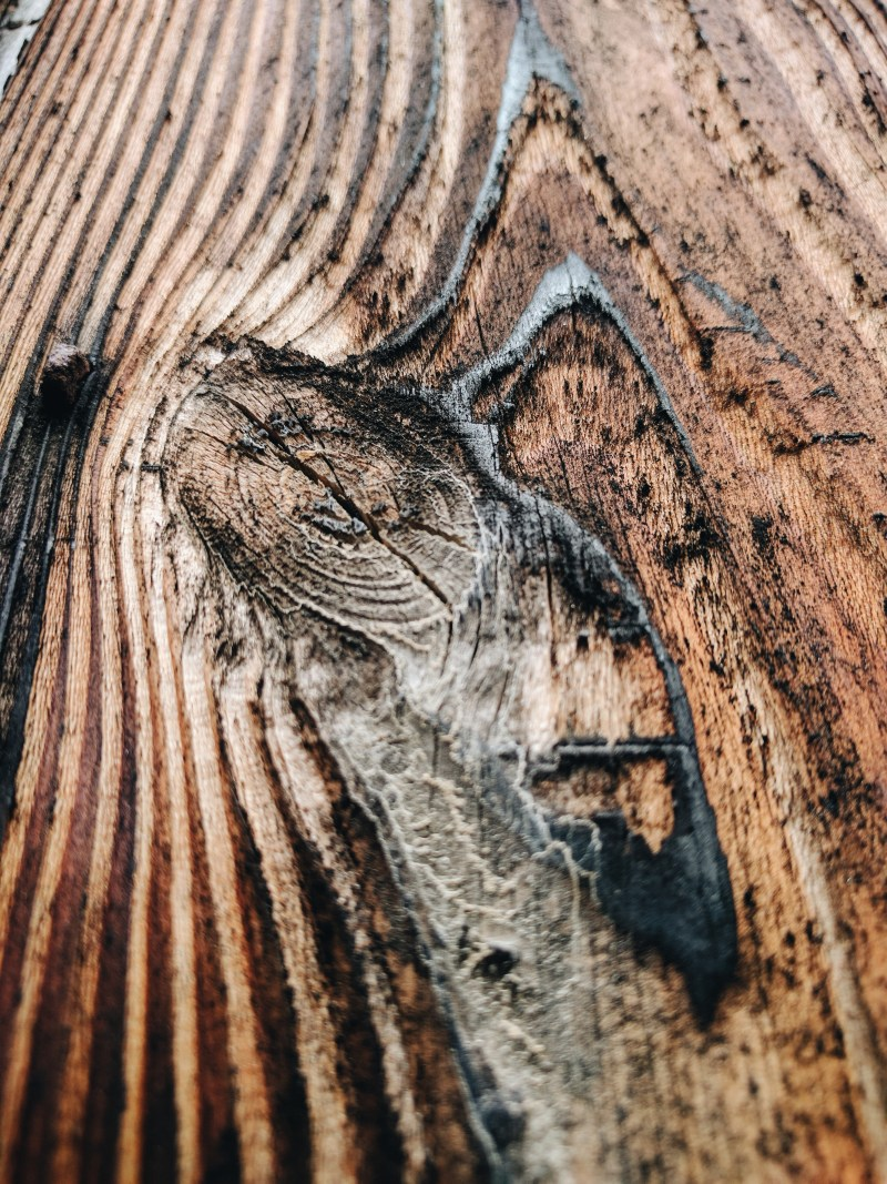 Wooden textures in Kyoto