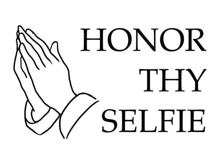Honor thy selfie by ANNETTE KIM