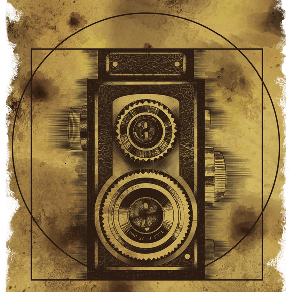 Vitruvian Camera design: made after the ideal proportions of the Vitruvian Man by Leonardo da Vinci