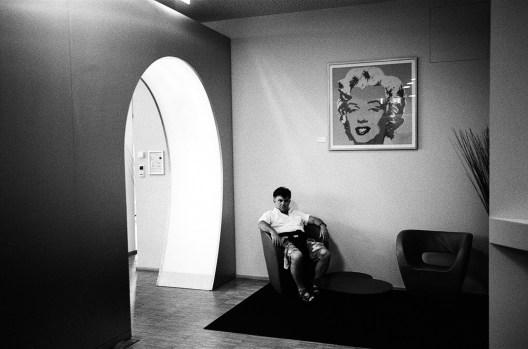 Andy Warhol lobby. Berlin, 2016.