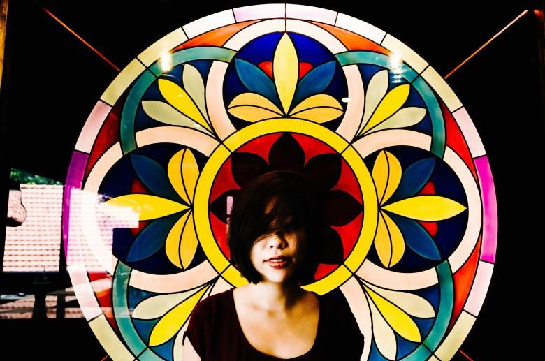 Cindy color halo. Saigon, 2017.