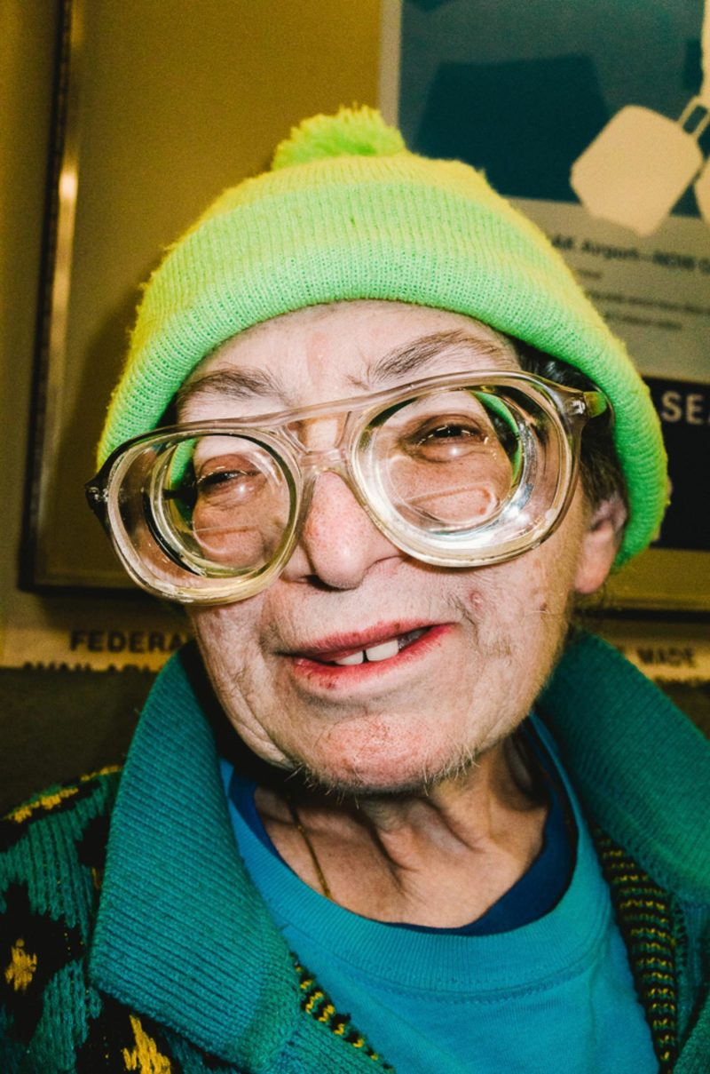 Eyes woman. Close up macro. Green. Glasses.