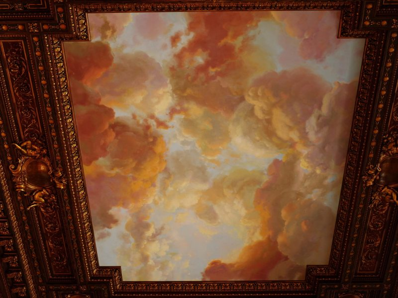 Ceiling clouds. New York Public Library. Pentax 645Z
