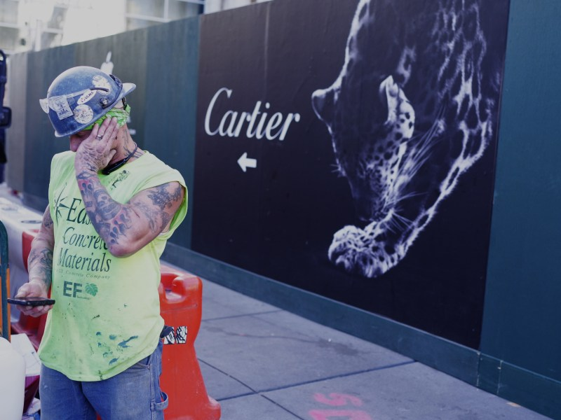 Cartier construction worker