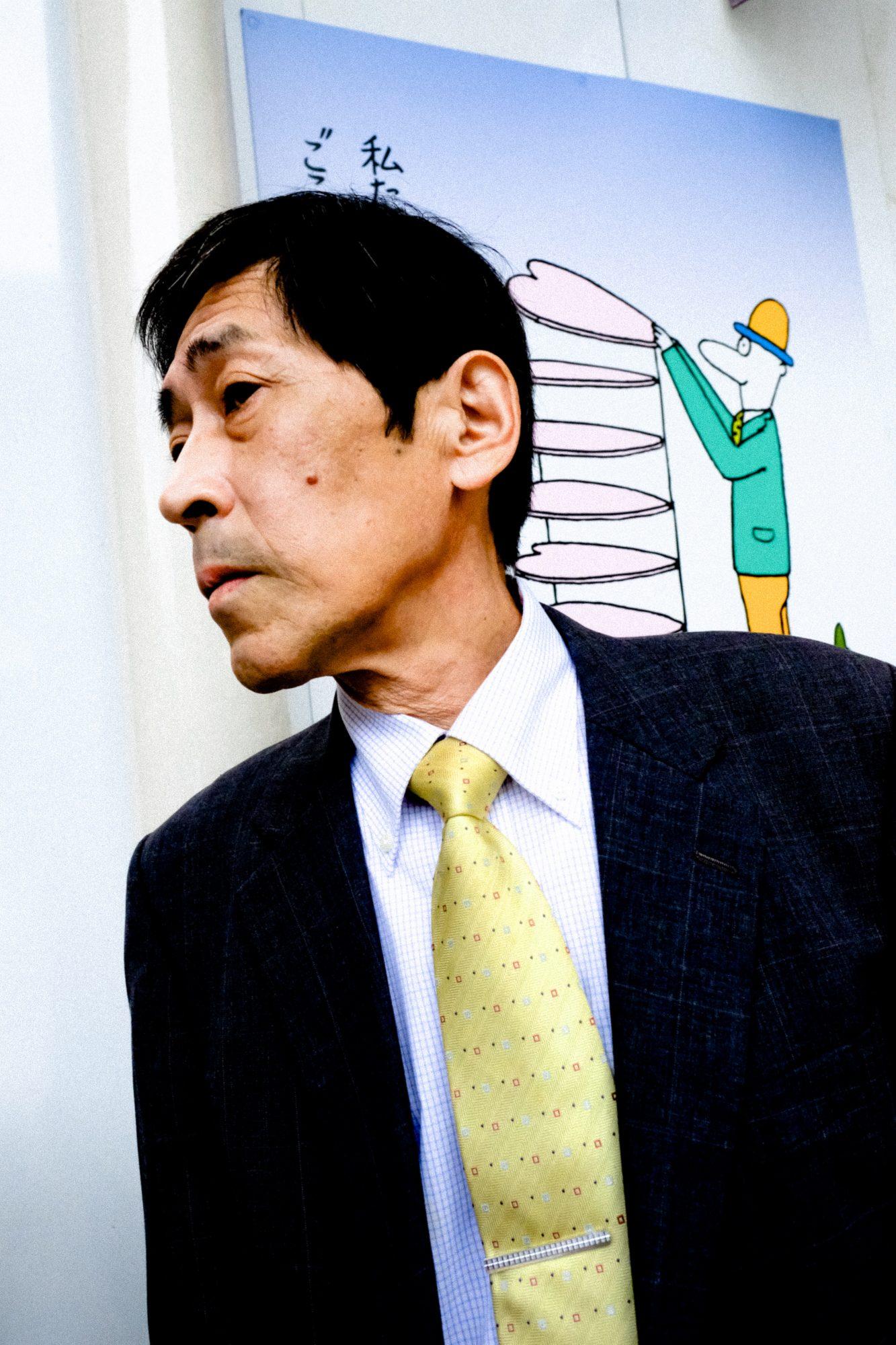 Man in suit. Kyoto, 2017