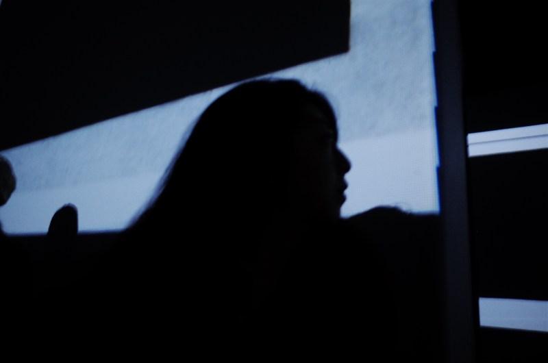 Annette Kim silhouette. Berlin, 2017