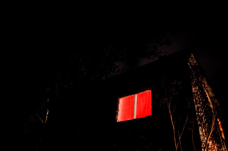 Red window. Berlin, 2017
