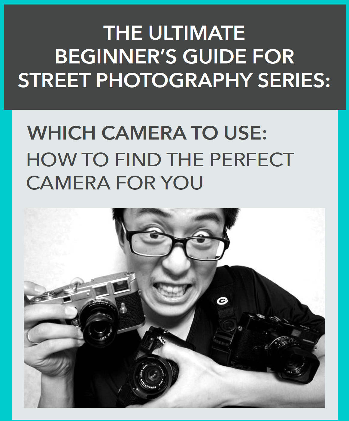 What is the best camera for street photography? NEWEST VISUALIZATION by ANNETTE KIM