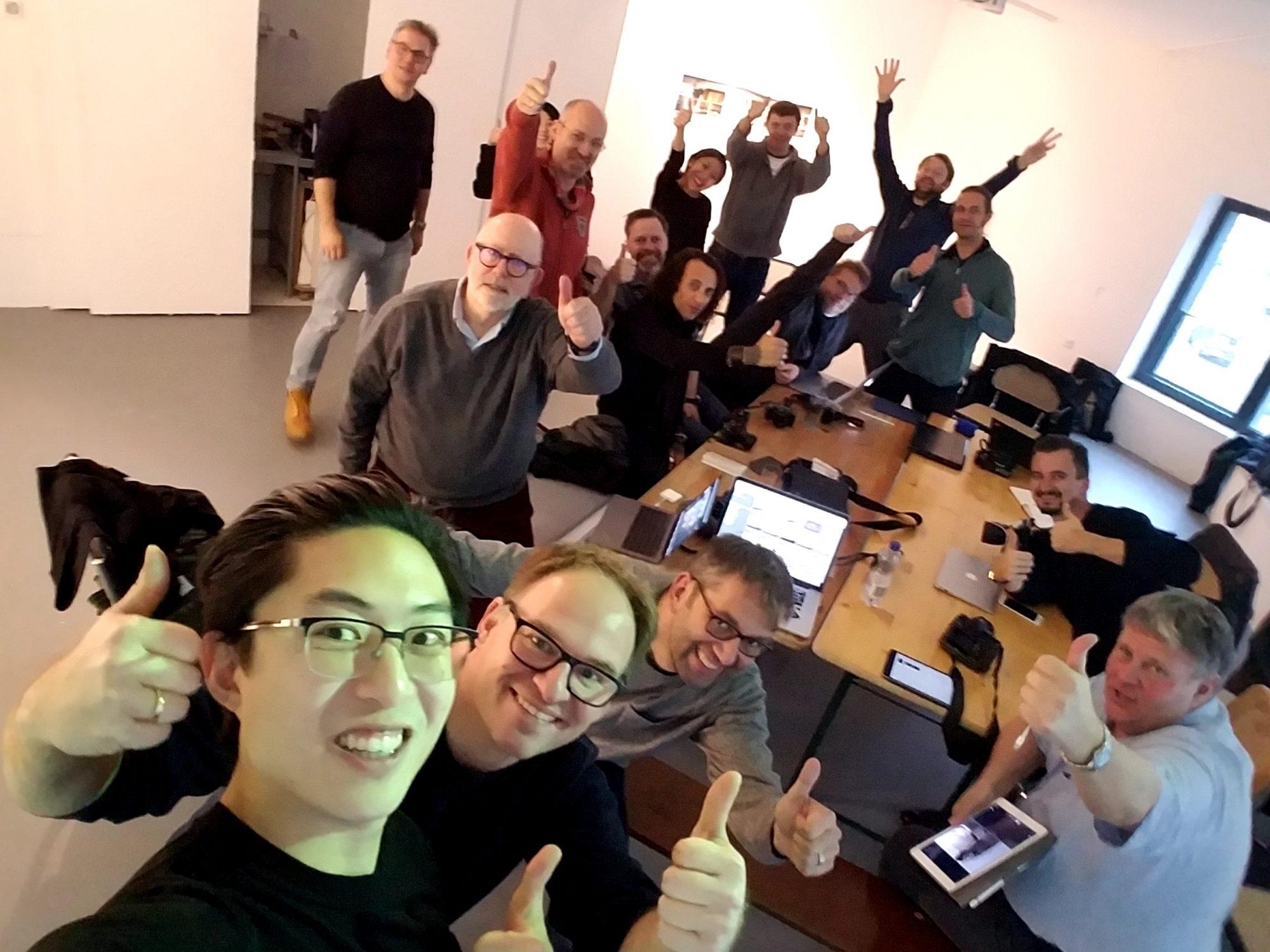 Selfie from ERIC KIM BERLIN WORKSHOP