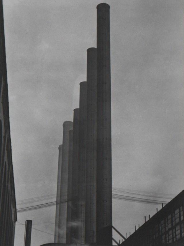 Urban landscape silo by Edward Weston