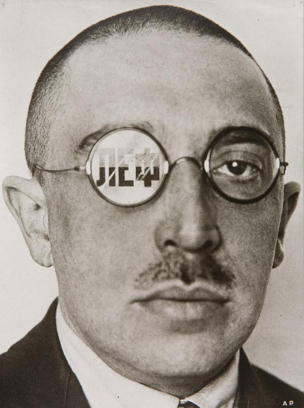The Critic, Osip Brik, 1924. Alexander Rodchenko Photo