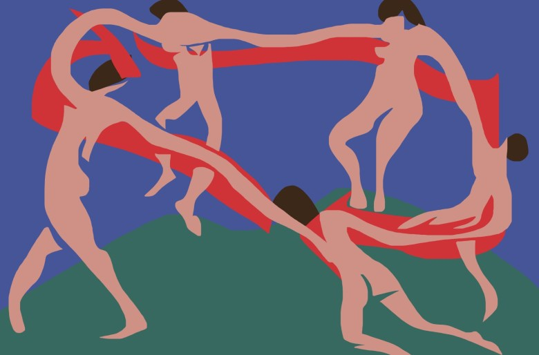The dance, Matisse remix by ERIC KIM