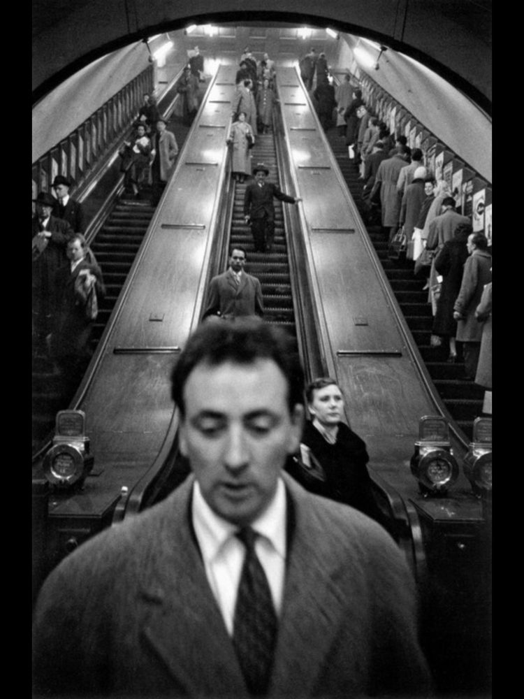 Sergio Larrain, Great Britain underground, 1958