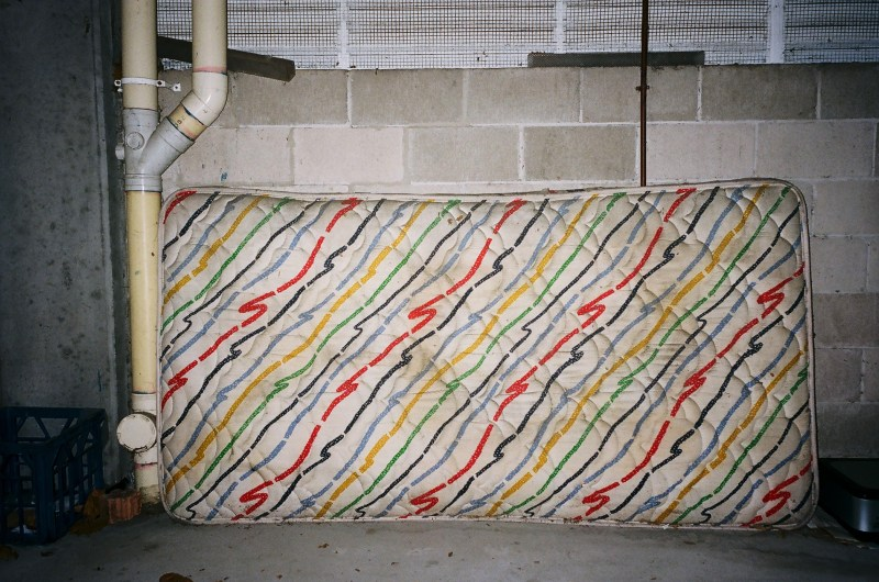 Colorful mattress