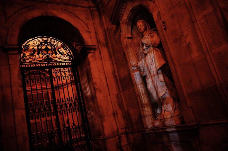 Church statue Lisbon