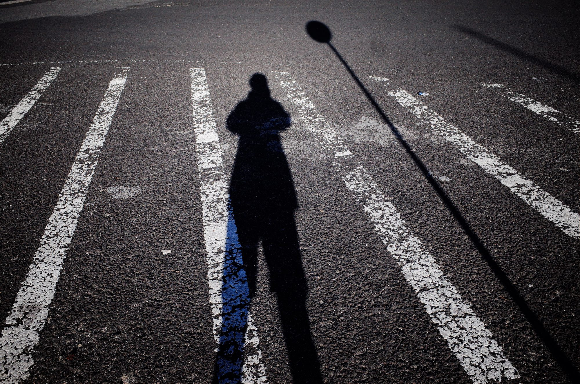Shadow selfie. Lisbon, 2018