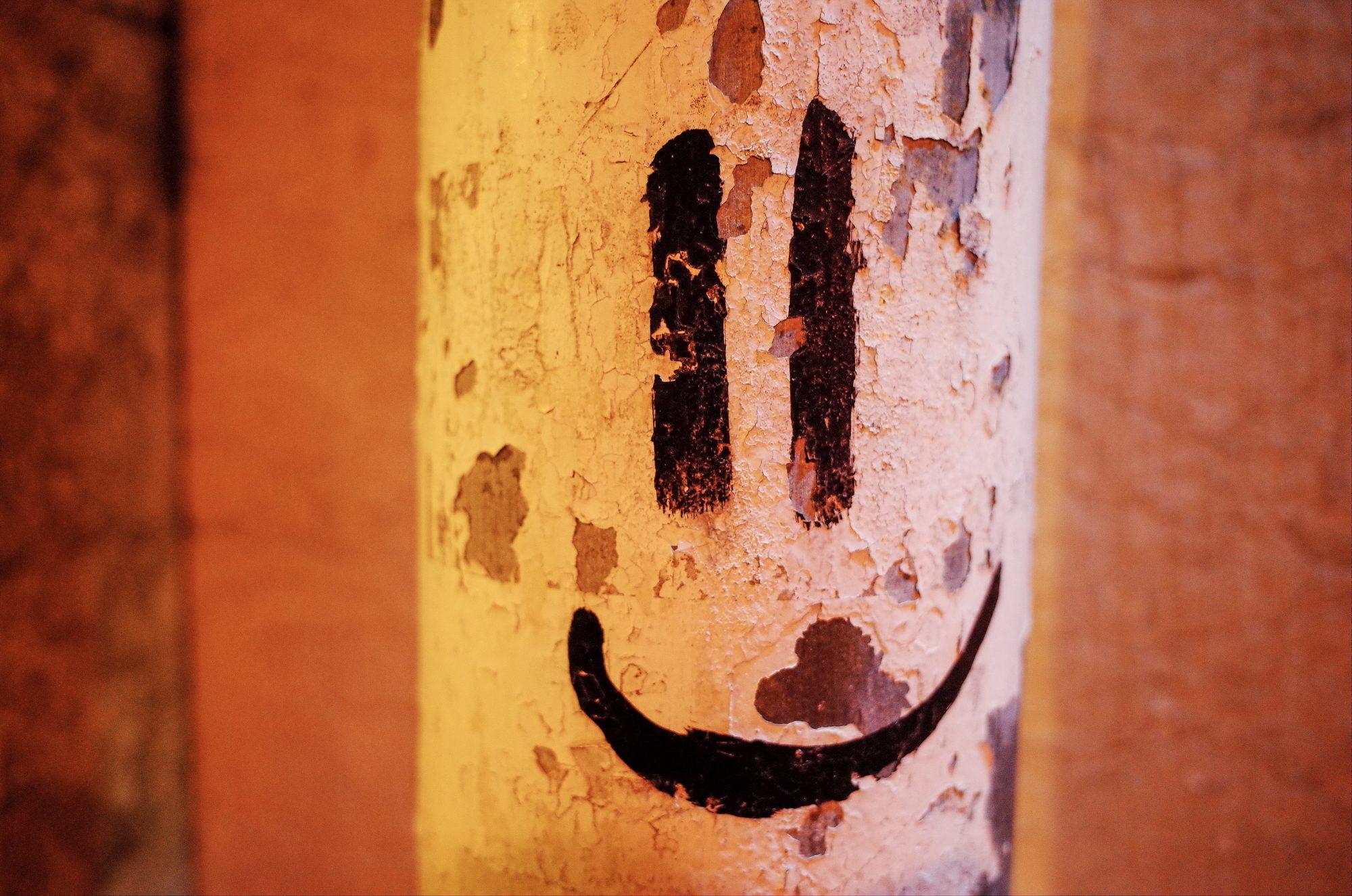Happy face. Lisbon, 2018