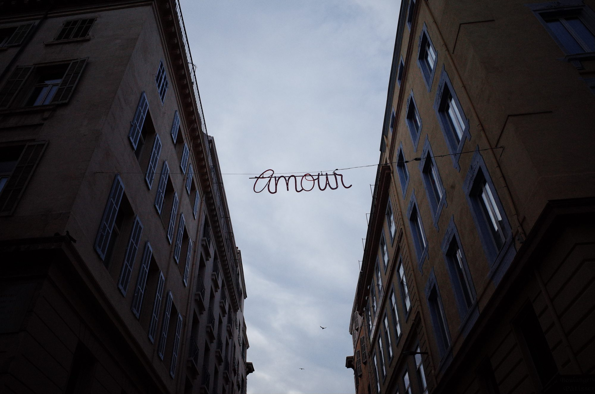 Amour. Marseille, 2018