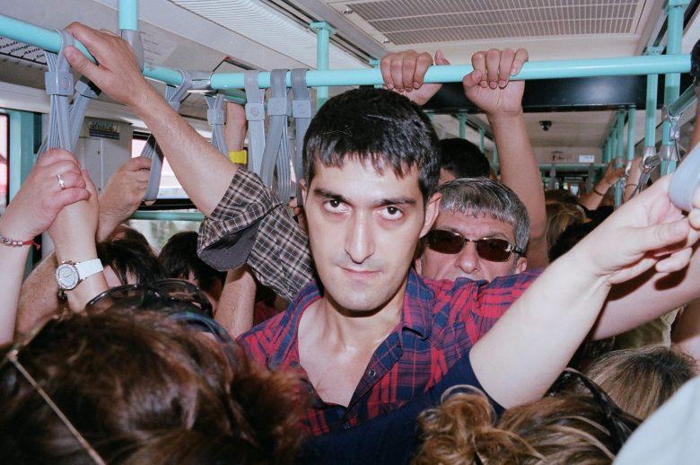 Istanbul bus. Leica MP, 35mm, flash, Kodak Portra 400, 1.2 meters.