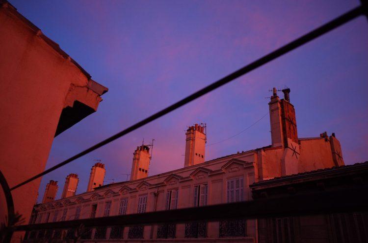 Marseille sunset, 2017