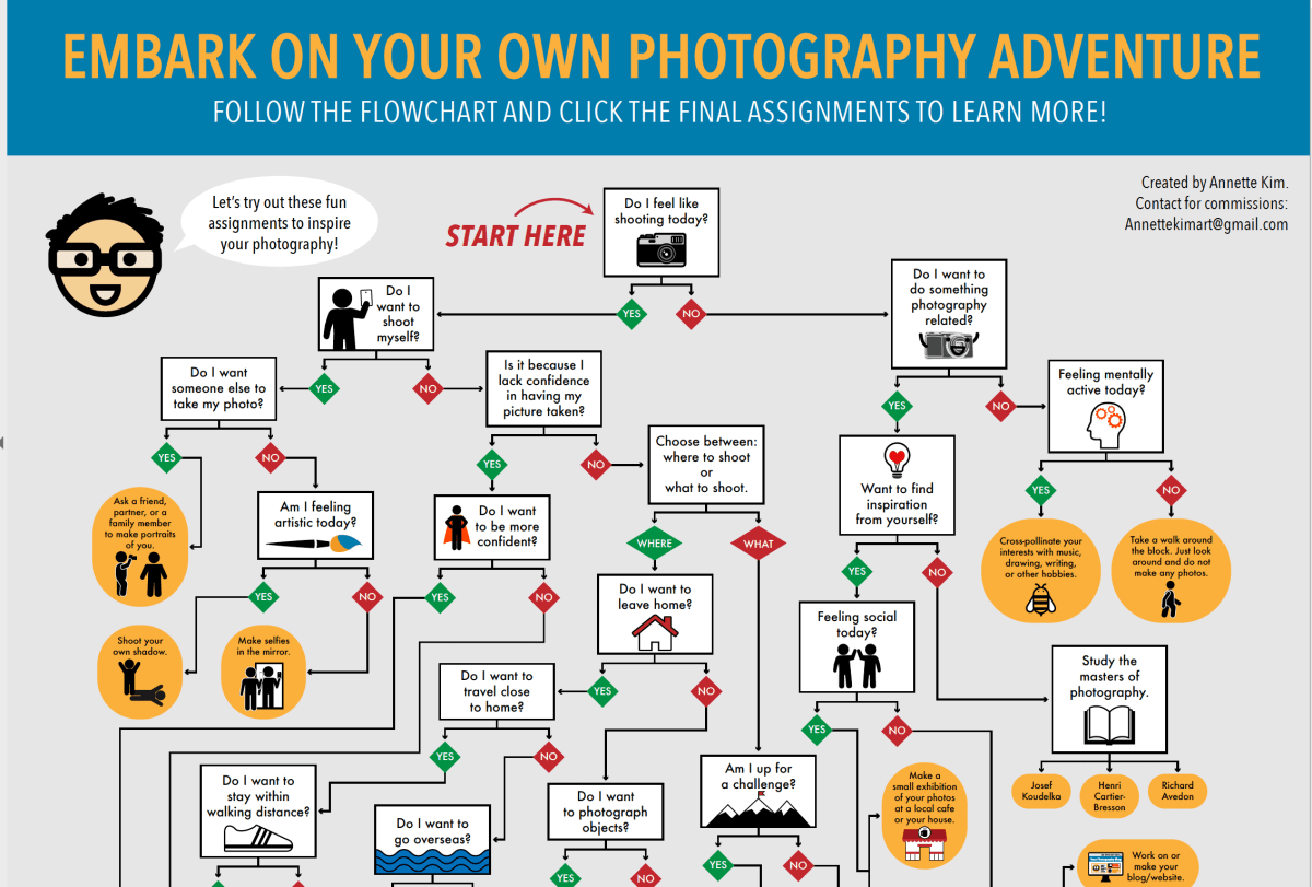 Embark On Your Own Photography Adventure Flowchart