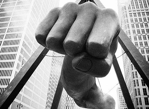 Fist of Detroit.