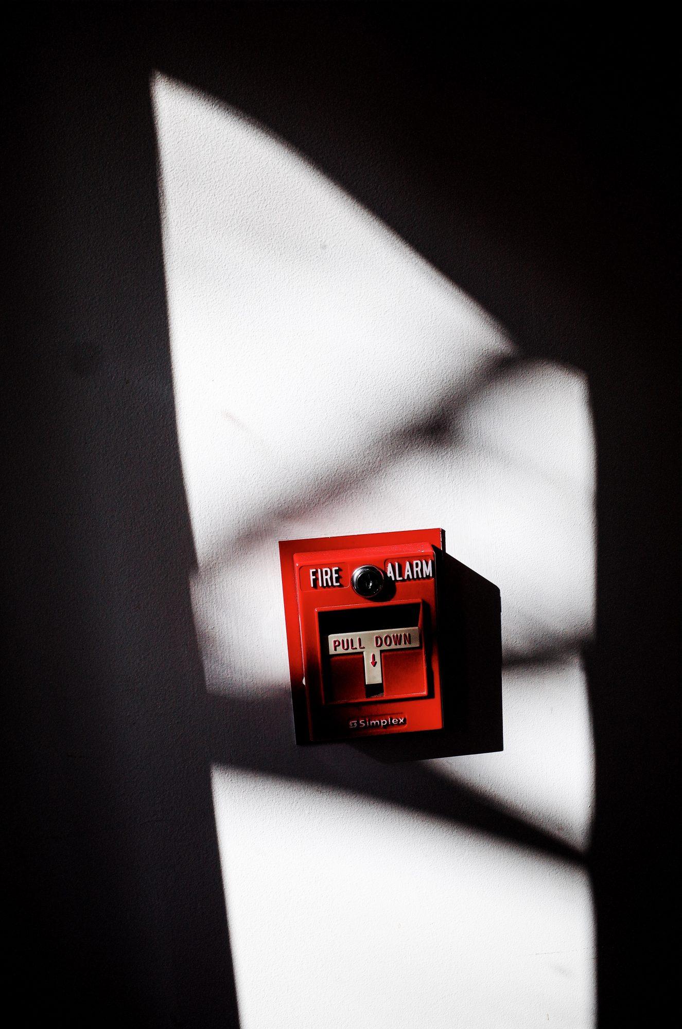Fire alarm. Boston, 2018