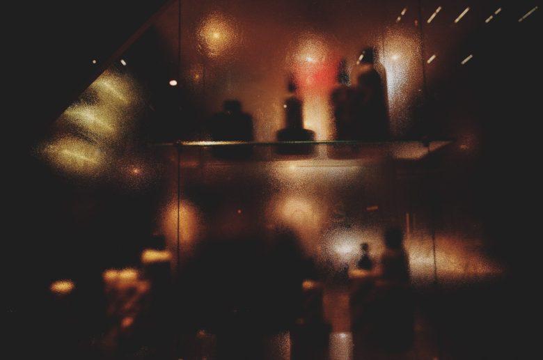 Abstract blur at night. London, 2018