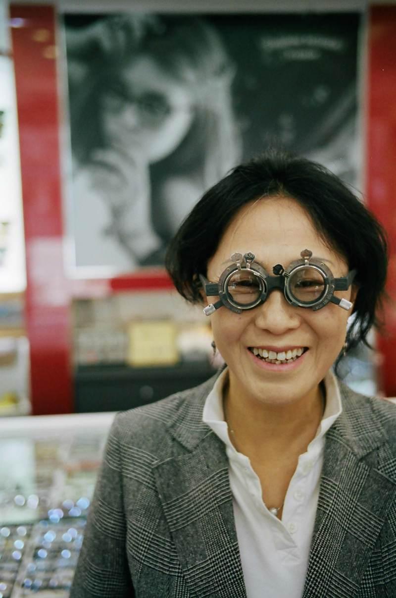 My mom glasses, busan, portrait