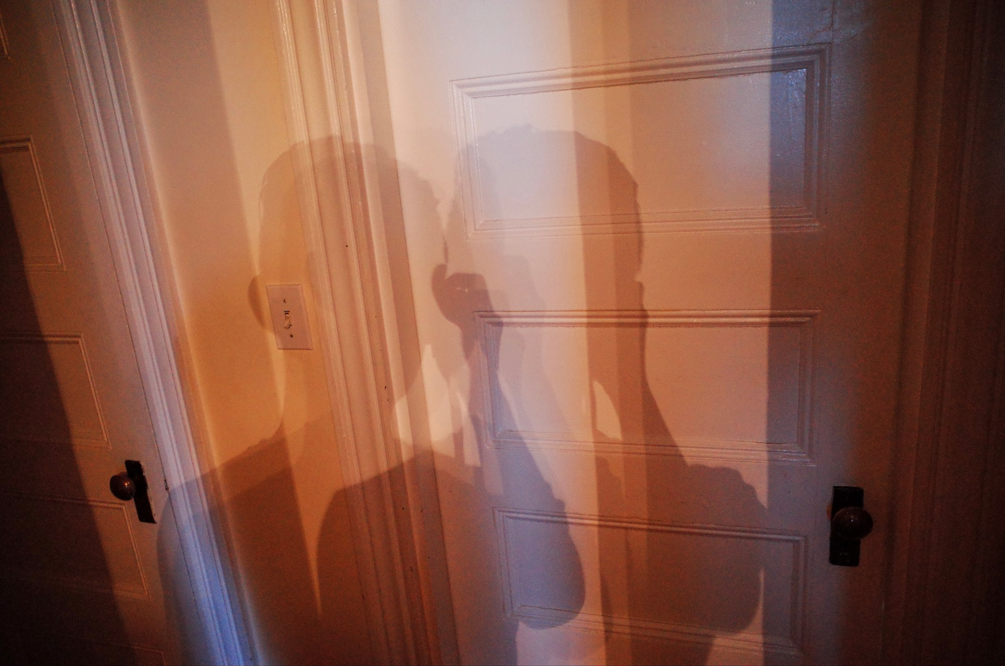 Shadow selfie. Boston, 2018