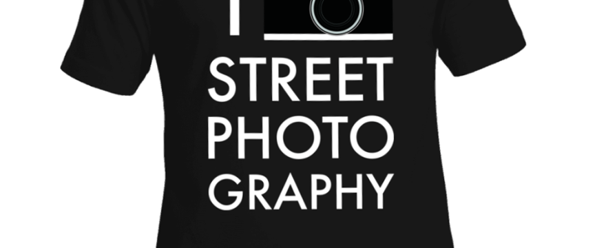Show Your Love for Street Photography: New Shirt by Annette Kim x HAPTIC