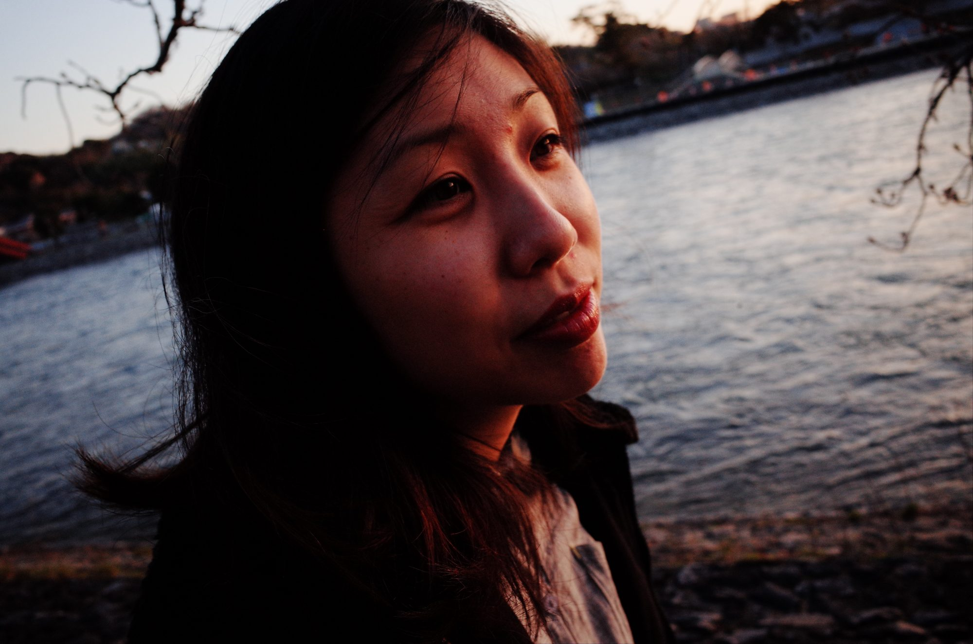 Cindy sunset, uji, Kyoto.