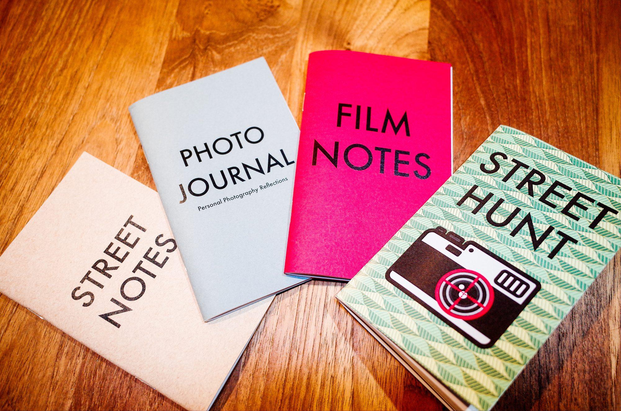 STREET NOTES, PHOTO JOURNAL, FILM NOTES, STREET HUNT