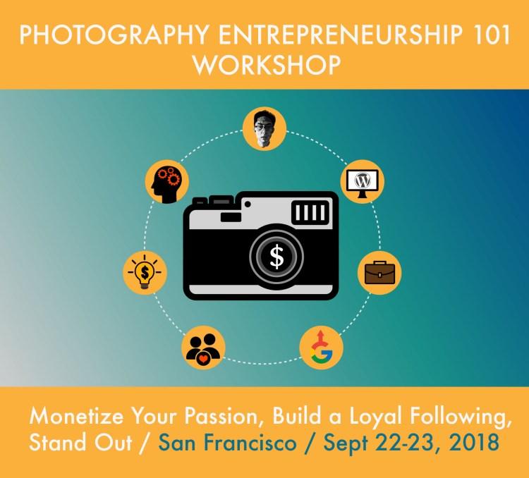 Photography Entrepreneurship 101 Workshop- San Francisco