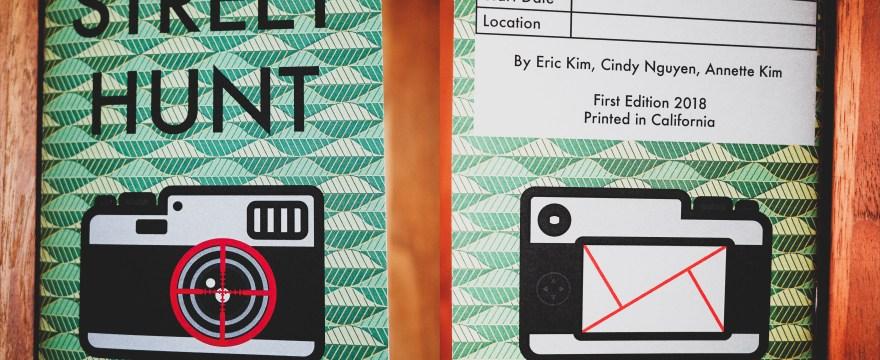 STREET HUNT: Freshly pressed PRINT EDITION