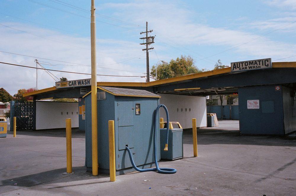 Berkeley car wash, urban landscape, 2014