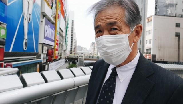 Man in suit, Osaka