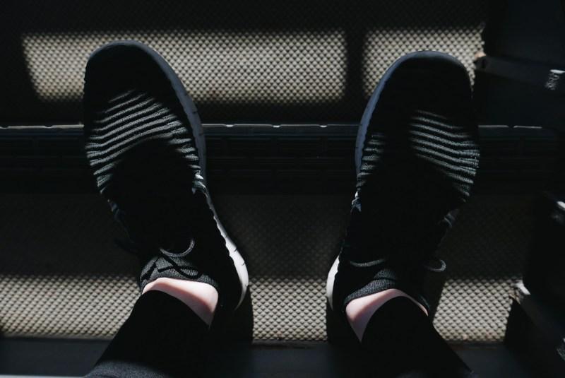 Shoes selfie