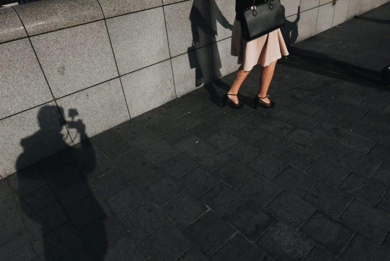 Legs walking Osaka