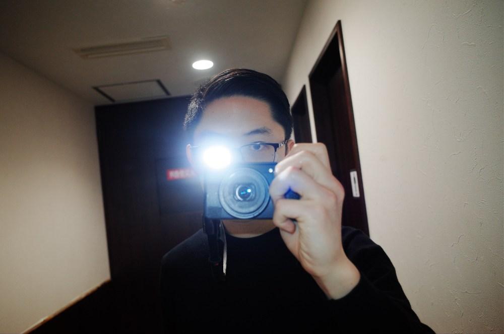 Osaka ricoh gr ii selfie