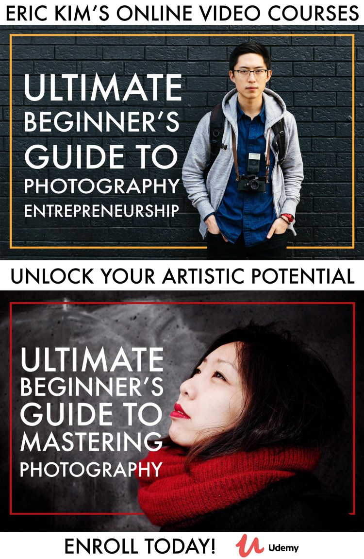 udemy ultimate beginners course photography eric kim banner