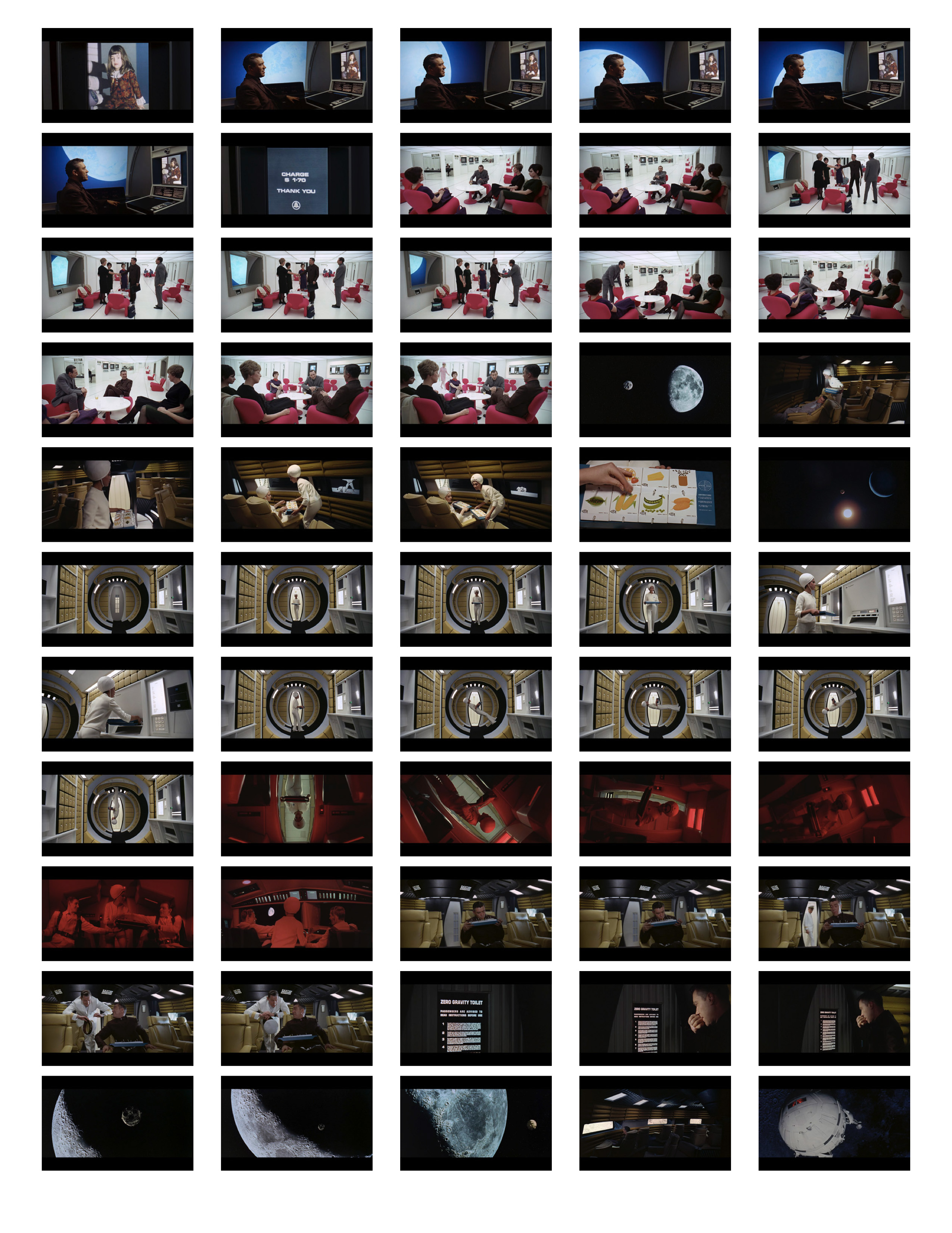 2001 Space Odyssey Cinematography - contact sheets-03