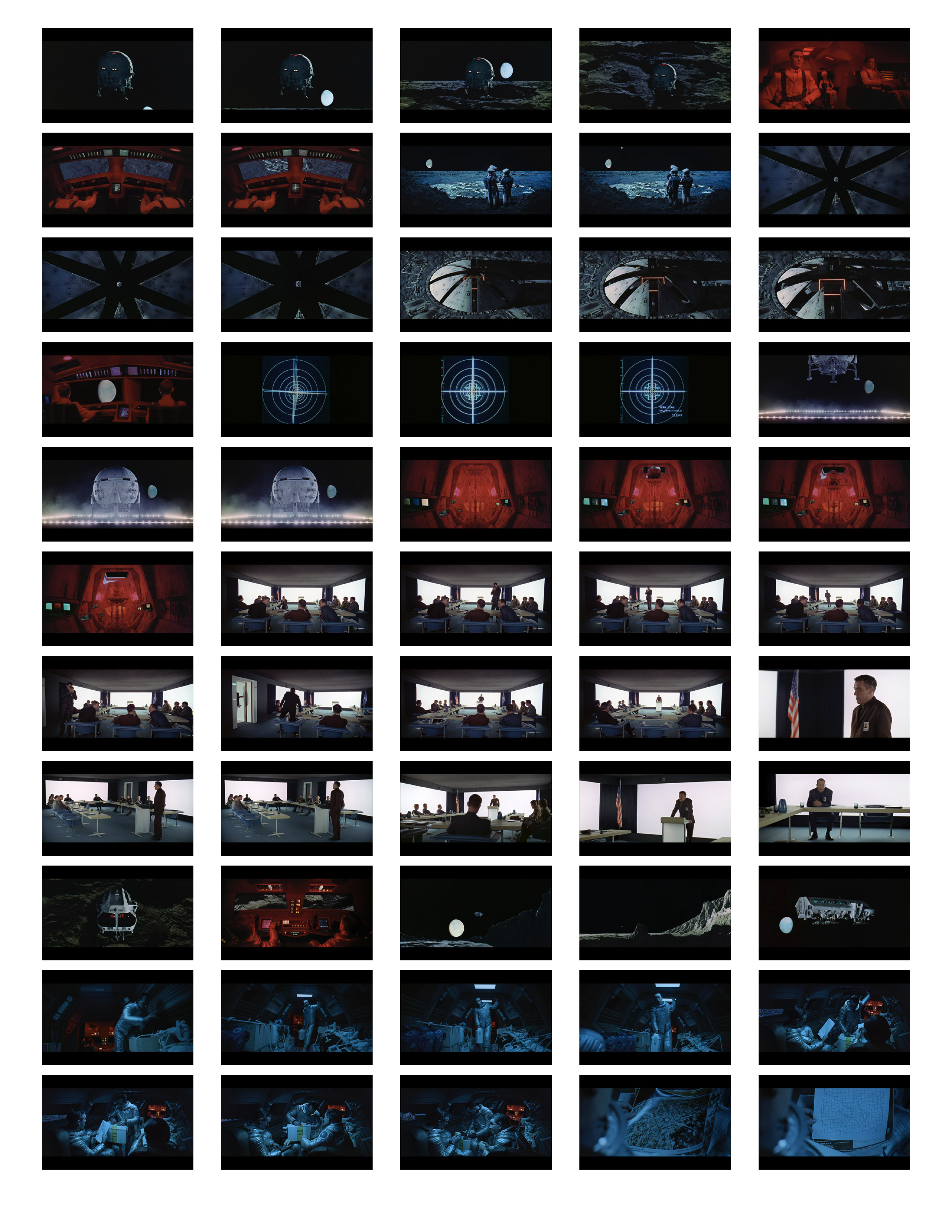 2001 Space Odyssey Cinematography - contact sheets-04