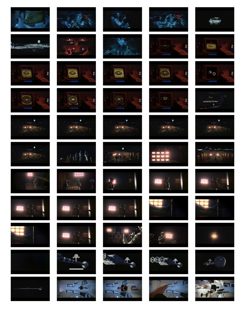 2001 Space Odyssey Cinematography - contact sheets-05