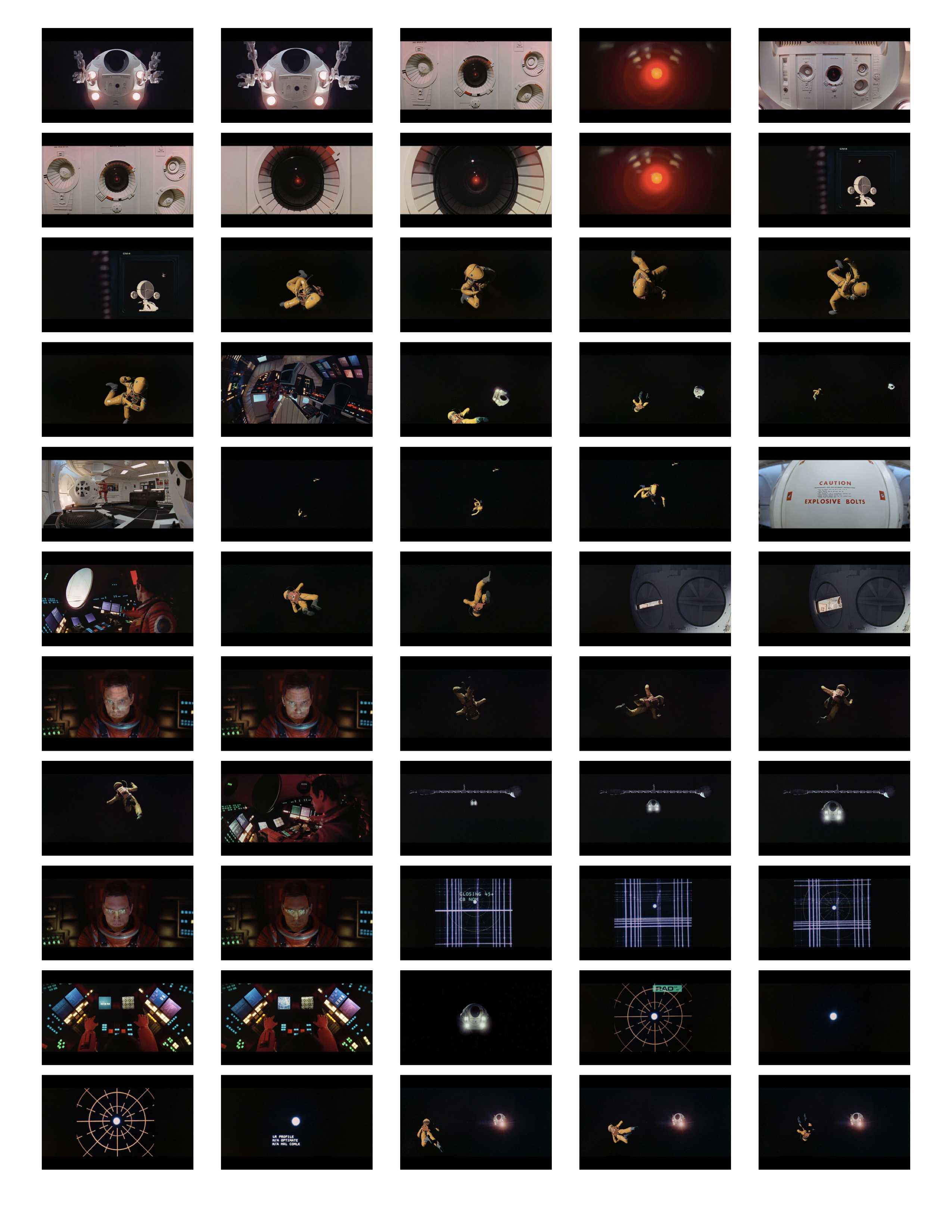 2001 Space Odyssey Cinematography - contact sheets-10