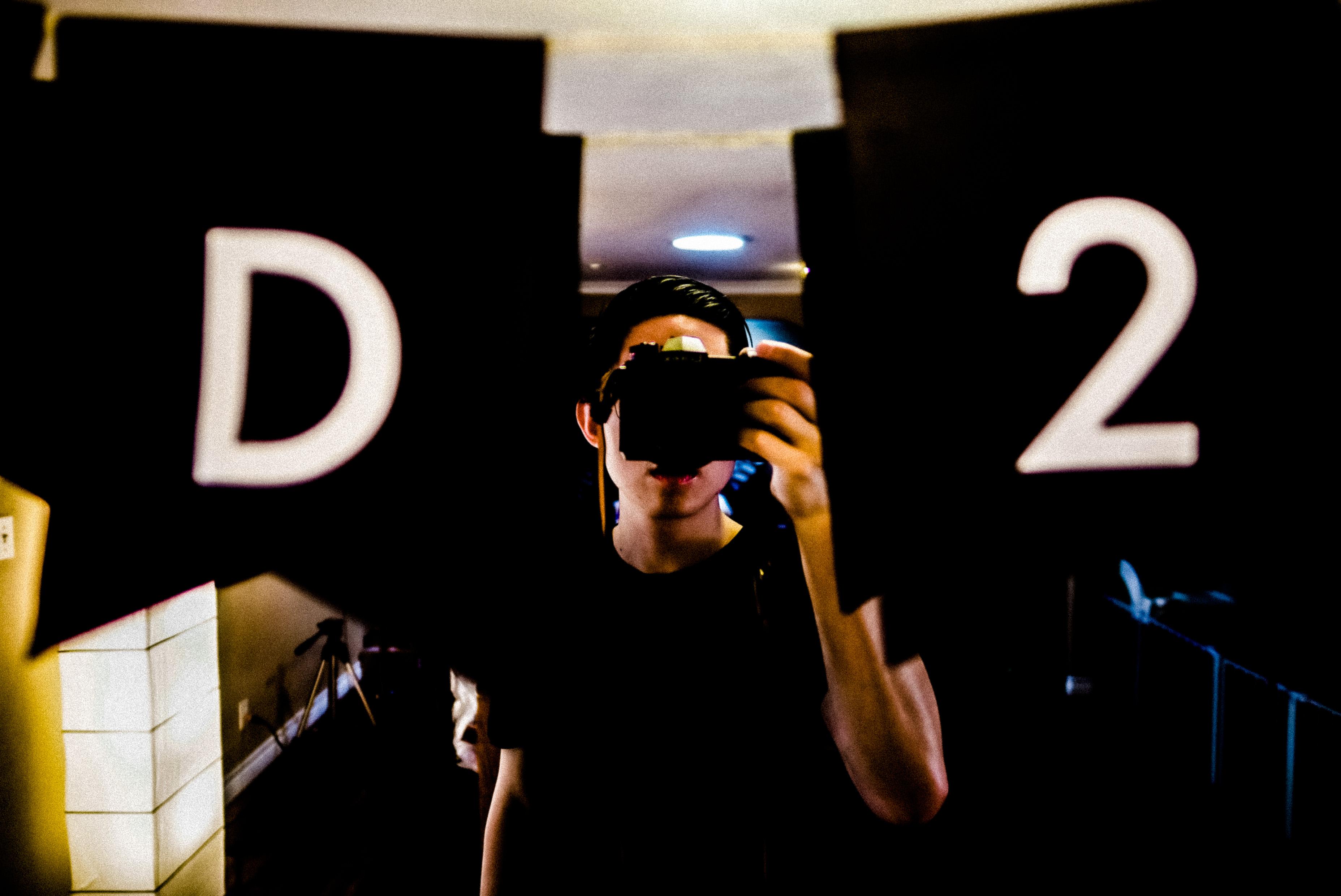 d2 selfie