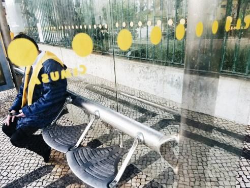 Yellow dots. Lisbon 2018