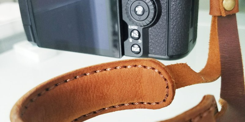 Prototype: New Pro Henri Wrist Strap (Crema Brown)