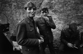 ITALY. Lazio region. Rome. Men on leave from their military service. 1963.